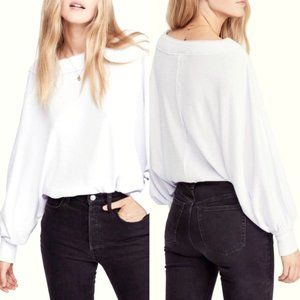 We the Free People Willow Oversize Thermal Top